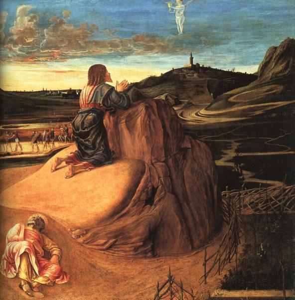 Jesus: Agony in the Garden by Bellini Giovanni, c1459