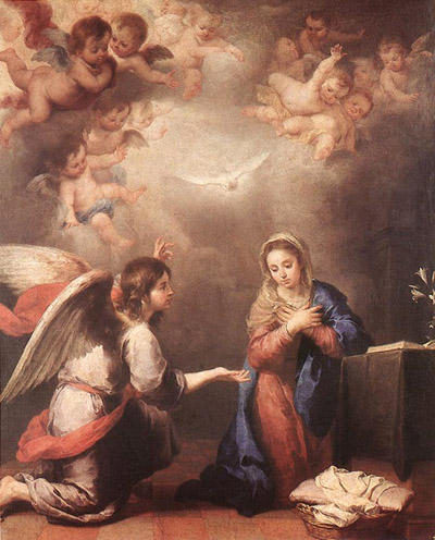 Annunciation to St. Mary