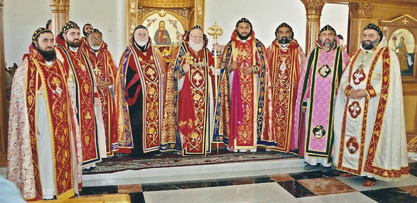 Consecration of Yeldo Mor Titus, Jan 2004