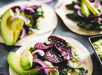 Beet Tacos from Wicked Healthy