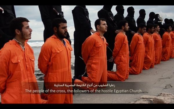 Coptic Chrystian Martyrs Brutally Murdered by ISIS