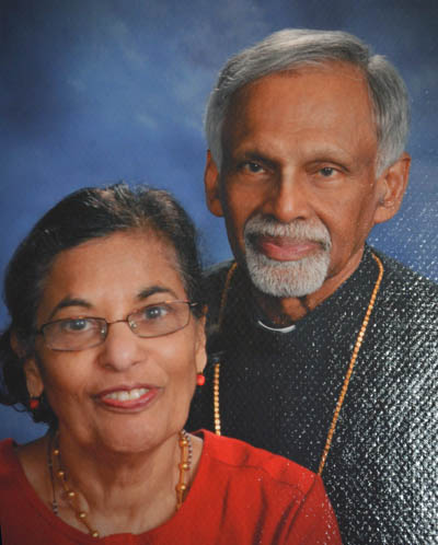 Recent photo-Geevarghese achen and Chinnu Kochamma