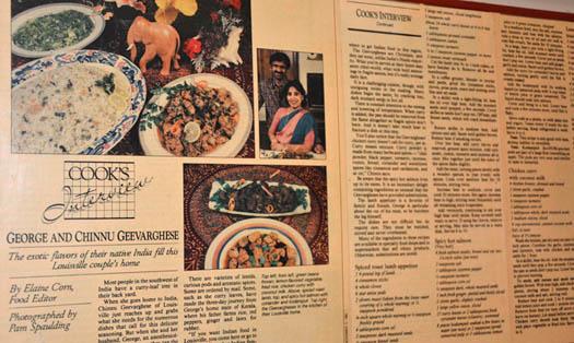 Chinnu Kochamma featured in Louisville Newspaper