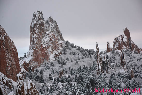 Garden of Gods, Colorado Springs, CO, USA Photo by Dr. Jacob Mathew, Malankara World