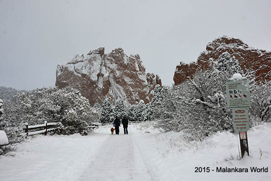 Garden of Gods, Colorado Springs, CO - 2015 Photo by Dr. Jacob Mathew, Malankara World