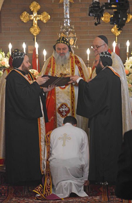 Ordination of Deacon Imad Yousif Al-Banna to Priesthood by HH Patriarch