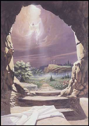 Empty Tomb - He is Risen!