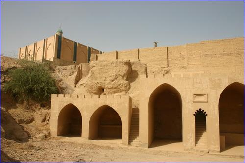Assyrian Green Church in Tirkit, Iraq