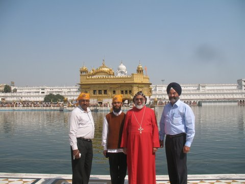 Thirumeni Visiting Golden Temple, Punjab