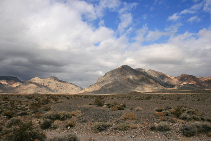 Desert Scene - Death Valley National Park; Photo by Dr. Jacob Mathew