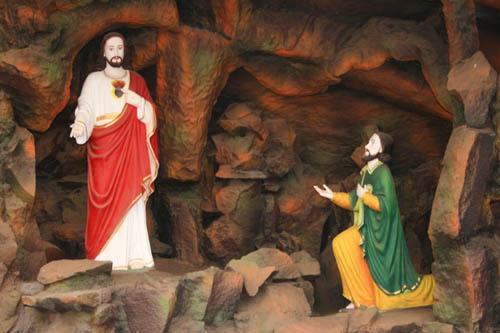 St. Thomas Kottakavu Church, North Parur, Kerala, Jesus Commissions St. Thomas for Evangelism