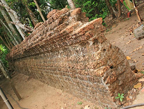 St. Thomas Kottakavu Church, North Parur, Kerala, Remains of the Old Wall built in AD 1308