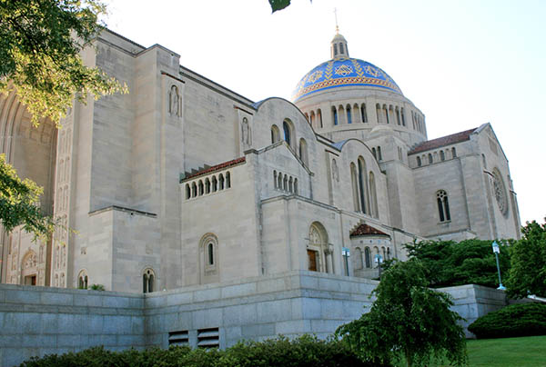 Basilica of the National Shrine of Immaculate Conception, Washington, DC, Photo by Dr. Jacob Mathew, Malankara World