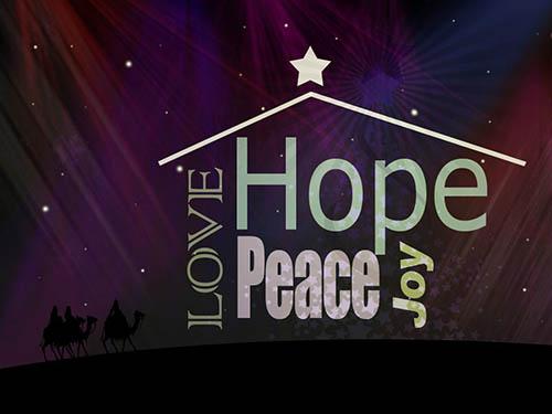 Advent- Season of Hope, Peace and Love