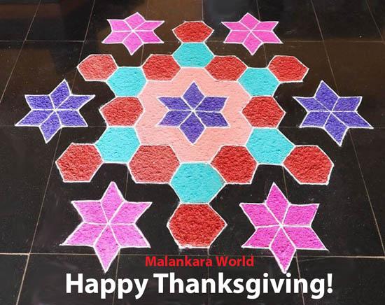Happy Thanksgiving from Malankara World!