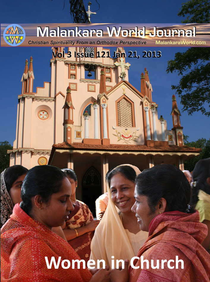 Malankara World Journal Cover Photo Women in Church