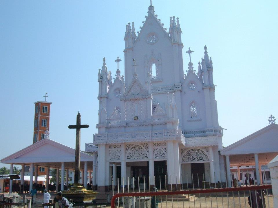 St. Mary's Cathedral and Global Marian Pilgrimage Center, Manarcadu, Kottayam