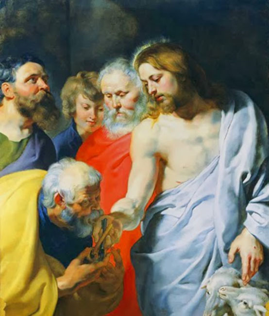 St. Peter Receiving Keys to the Kingdom