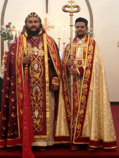 Rev. Fr. Zachariah Varghese, Austin, Texas at his ordination on May 26, 2012