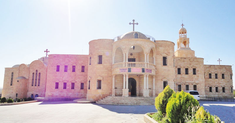 St. Mary's Monastery in Tell-Wardiat, Syria
