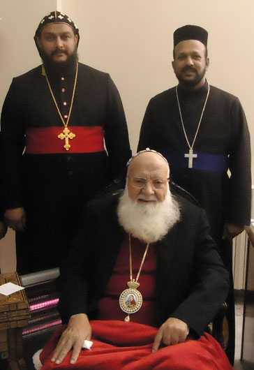 Edathara Achen with Theethose Thirumeni and Patriarch