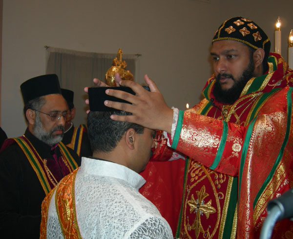 Paul Thottakat ordained as a deacon