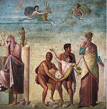 Sacrifice of Iphigenia by Timanthus