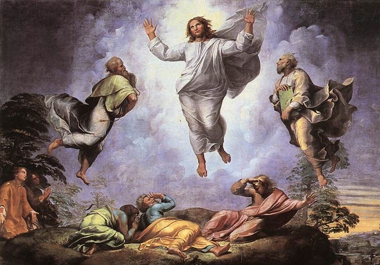 Transfiguration of Jesus by Raphael