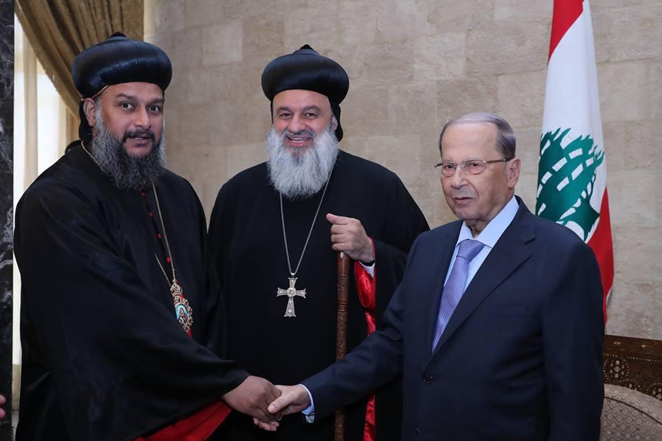 Theethose Thirumeni With Lebanese President