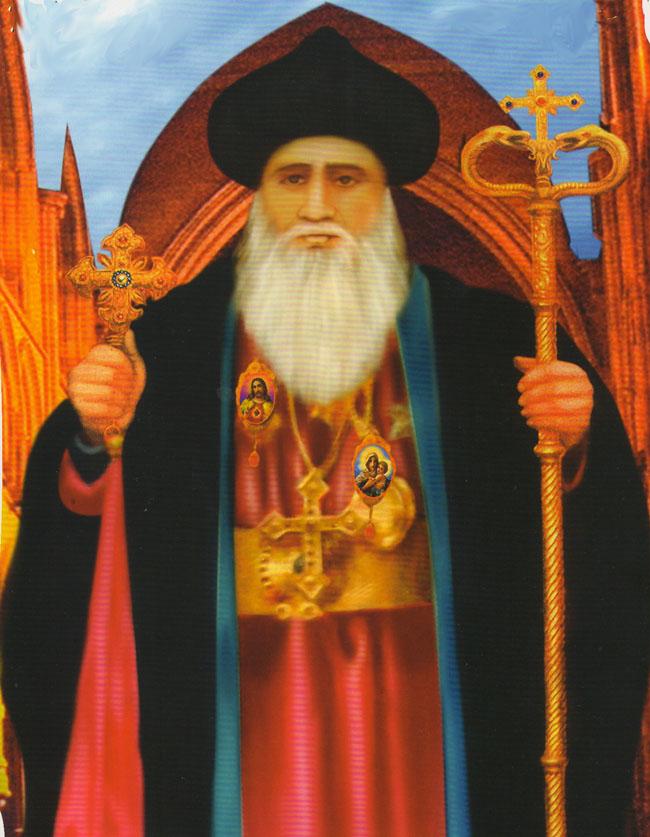 Yeldho Mor Baselios (St. Basil) of Kothamangalam, Patron Saint of Malankara World