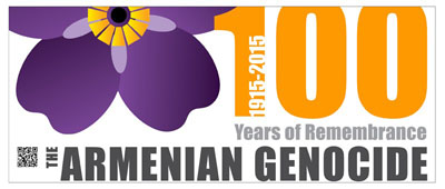 Armenian Genocide - 100 years - banner