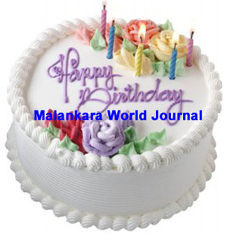 Happy Birthday Malankara World Journal