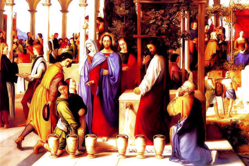 Wedding at Cana - Painting