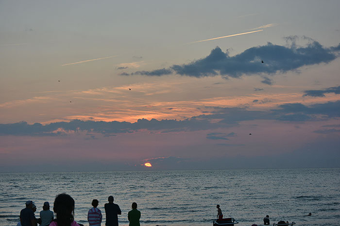 Cape Cod Sunset - August 2014 by Dr. Jacob Mathew
