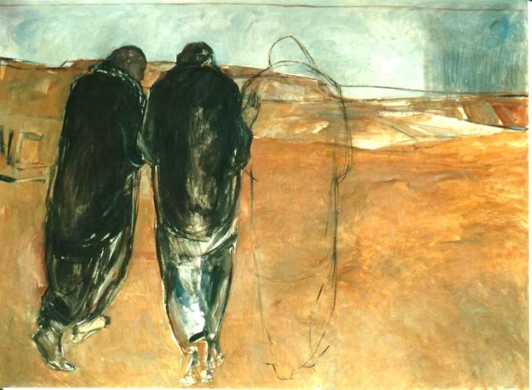 Emmaus (1992) by Janet Brooks-Gerloff