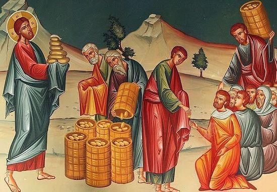 Jesus Feeding 5000