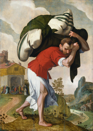 The Healing of the Paralytic, National Gallery of Art, Netherlandish 16th Century