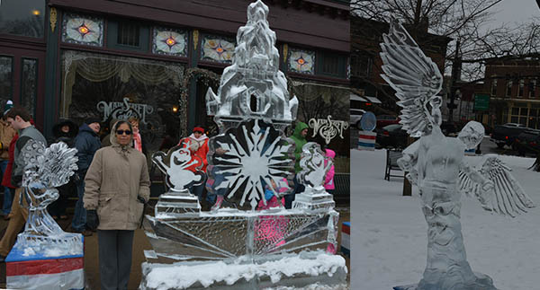 Ice Sculptures from Medina Snow Fest-2016 photo by Dr. Jacob Mathew, MW