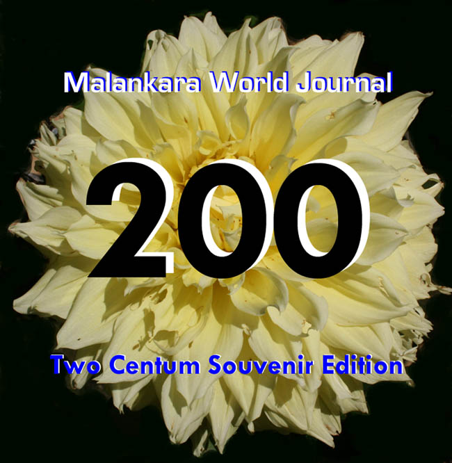 Two Centum Issue, Malankara World Journal