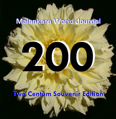Two Centum Mega Special Edition of Malankara World Journal