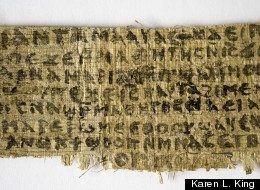 Papyrus Fragment from 4th century AD