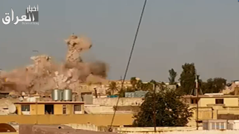 Jonah's Tomb in Nineveh Plains being blown up by ISIS