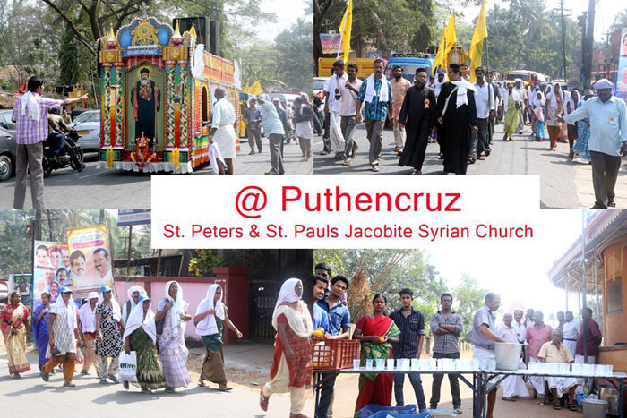 Puthencruz Pilgrimmage-2014 at Puntehncruz
