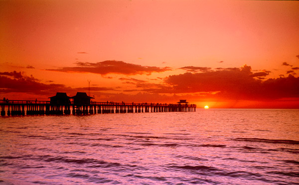 Sunset in Naples, Florida