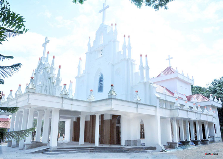 St. Mary's Cheriapally, Pampady East, Kottayam Diocese, Look of Church at Century Celebrations