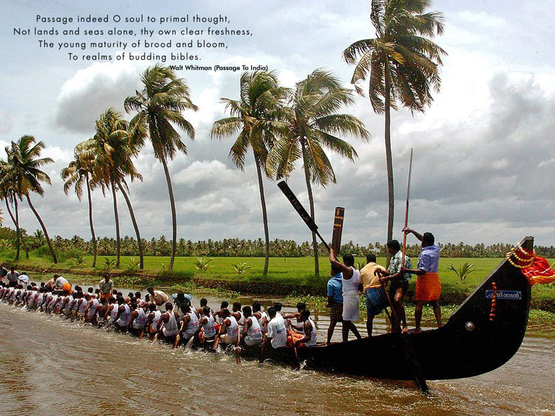 Kerala Boat Races during Onam Season