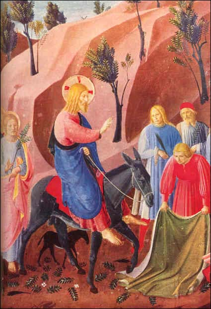 Palm Sunday - Jesus Enters Jerusalem