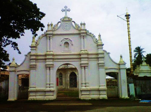 St. Thomas Church, North Parur, Kerala, India