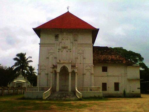 St. Thomas Church, North Parur, Kerala - view from East