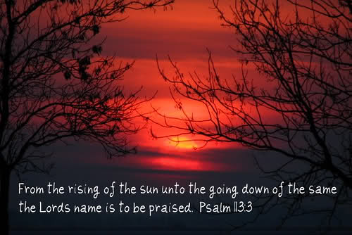 Cover Picture Psalm 113-3